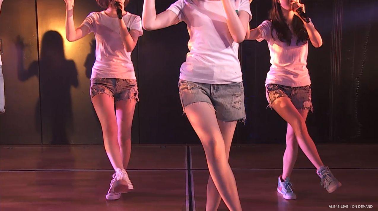 島崎遥香 あの頃のスニーカー チームA劇場公演 20140714 (3)
