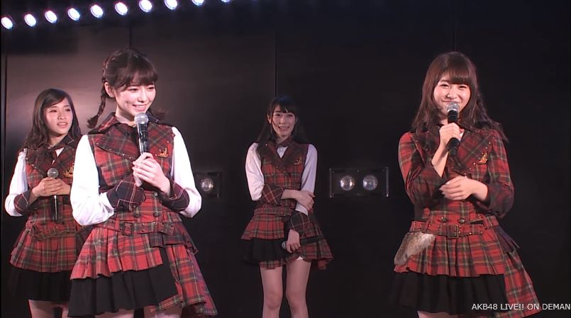 宮脇咲良 MC チームA公演 20140714 (4)