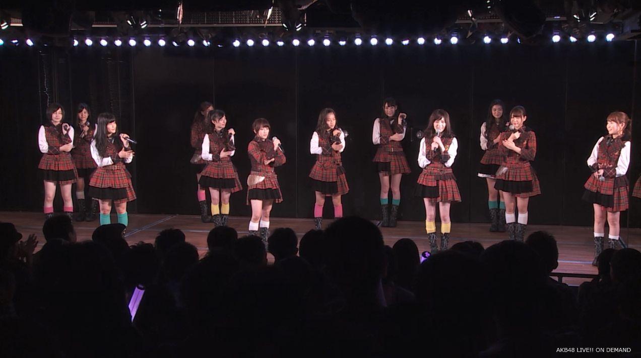 島崎遥香 チームA公演 20140716 (1)