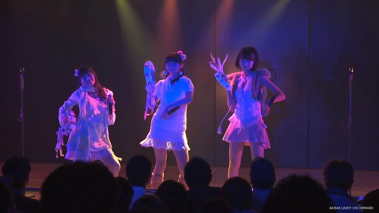 ストレート宮脇咲良 ハート型ウィルス AKB48チームA公演 20140730 (25)