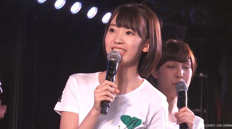 ストレート宮脇咲良 MC AKB48チームA公演 20140730 (3)