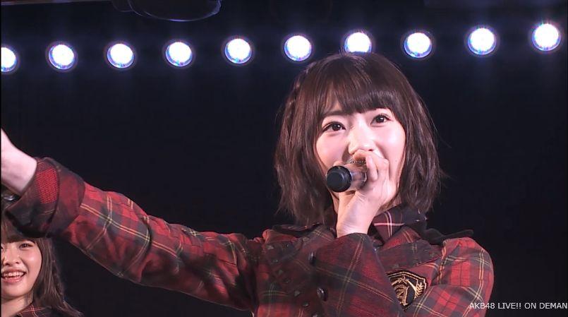宮脇咲良 MC チームA公演 20140714 (1)