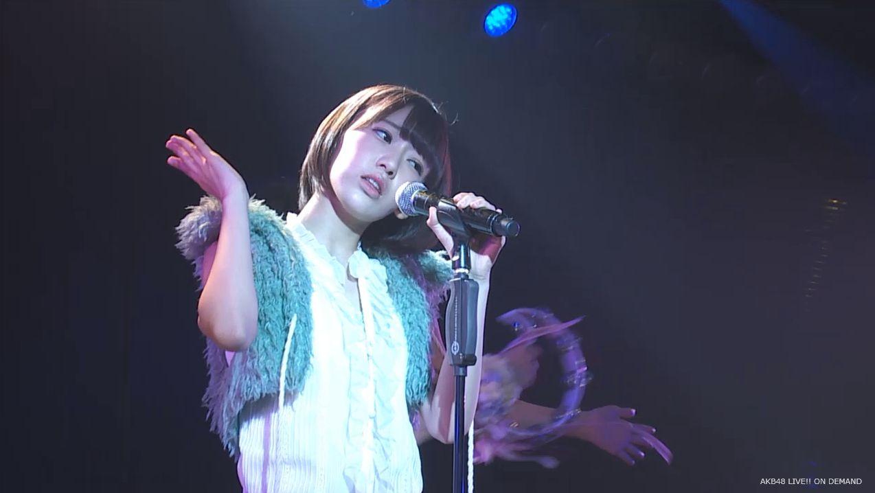ストレート宮脇咲良 ハート型ウィルス AKB48チームA公演 20140730 (5)