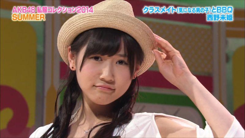 AKBINGO 私服コレクション2014夏 西野未姫 20140709 (10)_R
