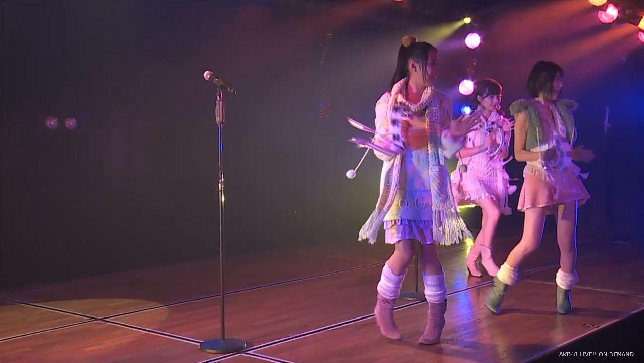 宮脇咲良 ハート型ウィルス チームA公演 20140714 (12)