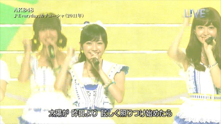 AKB48 渡辺麻友 THE MUSIC DAY 音楽のちから 20140712 (10)_R