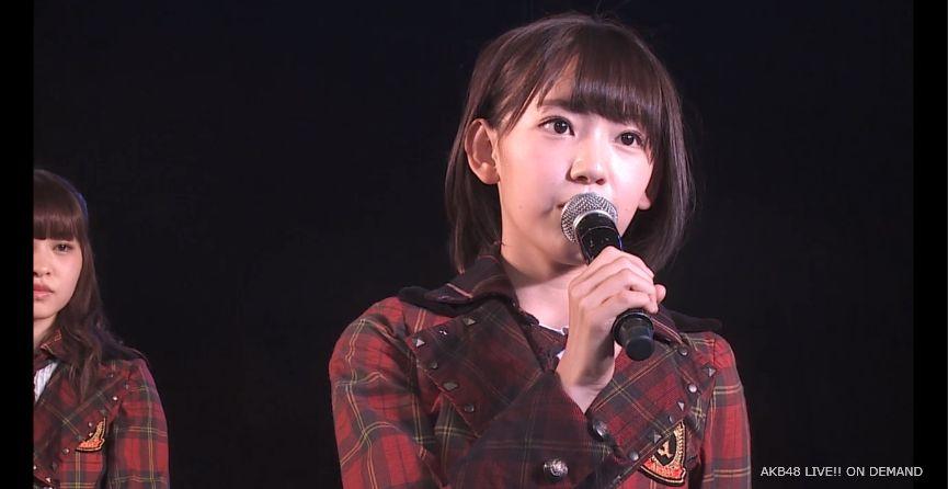 ストレート宮脇咲良 MC 自己紹介 AKB48チームA公演 20140730 (6)