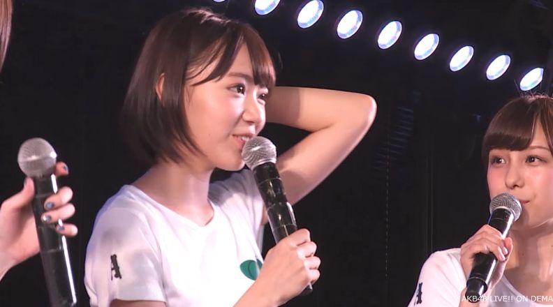 ストレート宮脇咲良 MC AKB48チームA公演 20140730 (1)