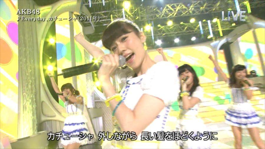 AKB48 島崎遥香 THE MUSIC DAY 音楽のちから 20140712 (6)_R