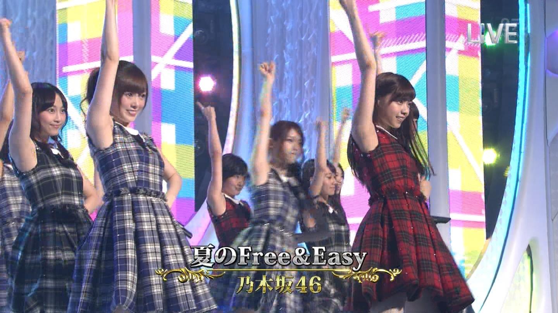 白石麻衣 乃木坂46 夏のFree&Easy THE MUSIC DAY 音楽のちから 20140712 (2)
