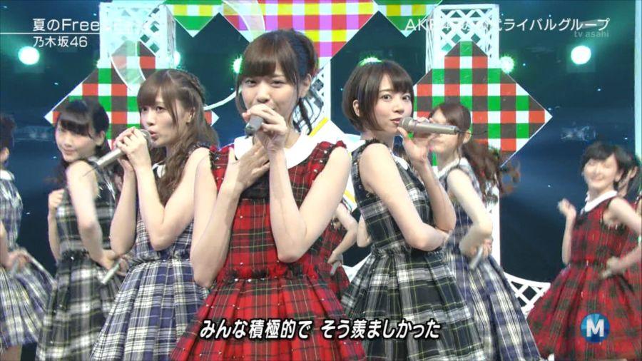 乃木坂46 ミュージックステーション 白石麻衣 20140711 (9)_R