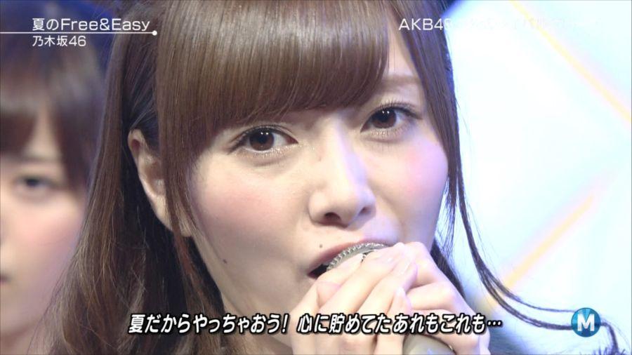 乃木坂46 ミュージックステーション 白石麻衣 20140711 (12)_R