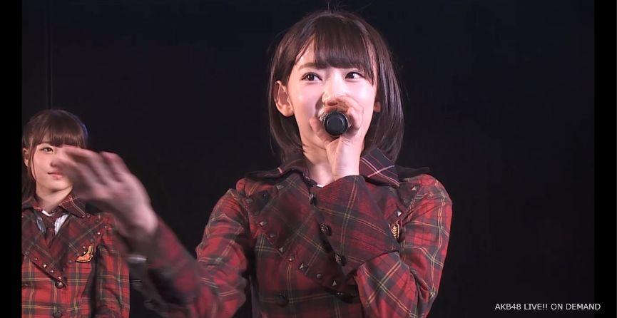 ストレート宮脇咲良 MC 自己紹介 AKB48チームA公演 20140730 (1)