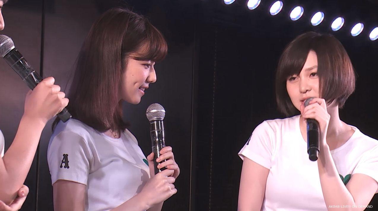 島崎遥香 MC チームA劇場公演 20140714 (1)