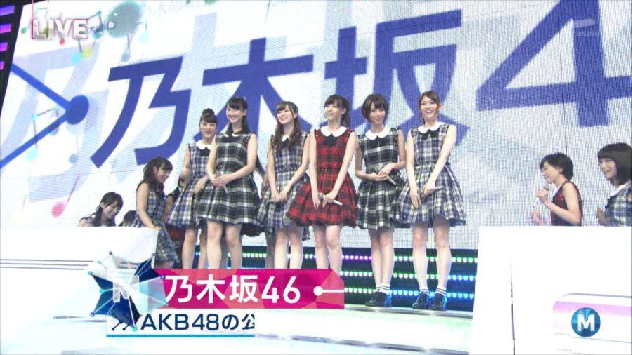 乃木坂46 ミュージックステーション 白石麻衣 20140711 (2)_R