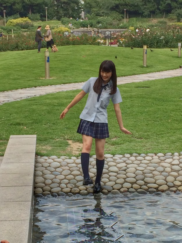 渋谷凪咲 月刊ENTAME9月 オフショット