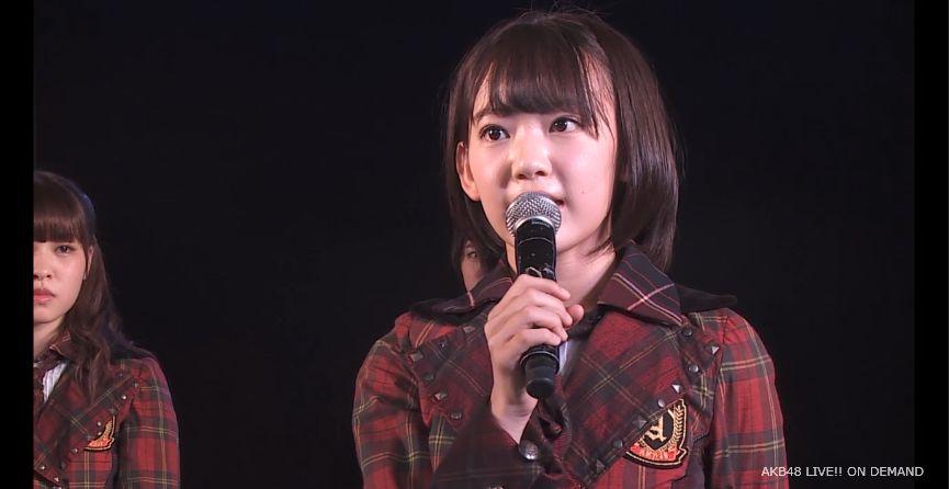 ストレート宮脇咲良 MC 自己紹介 AKB48チームA公演 20140730 (8)