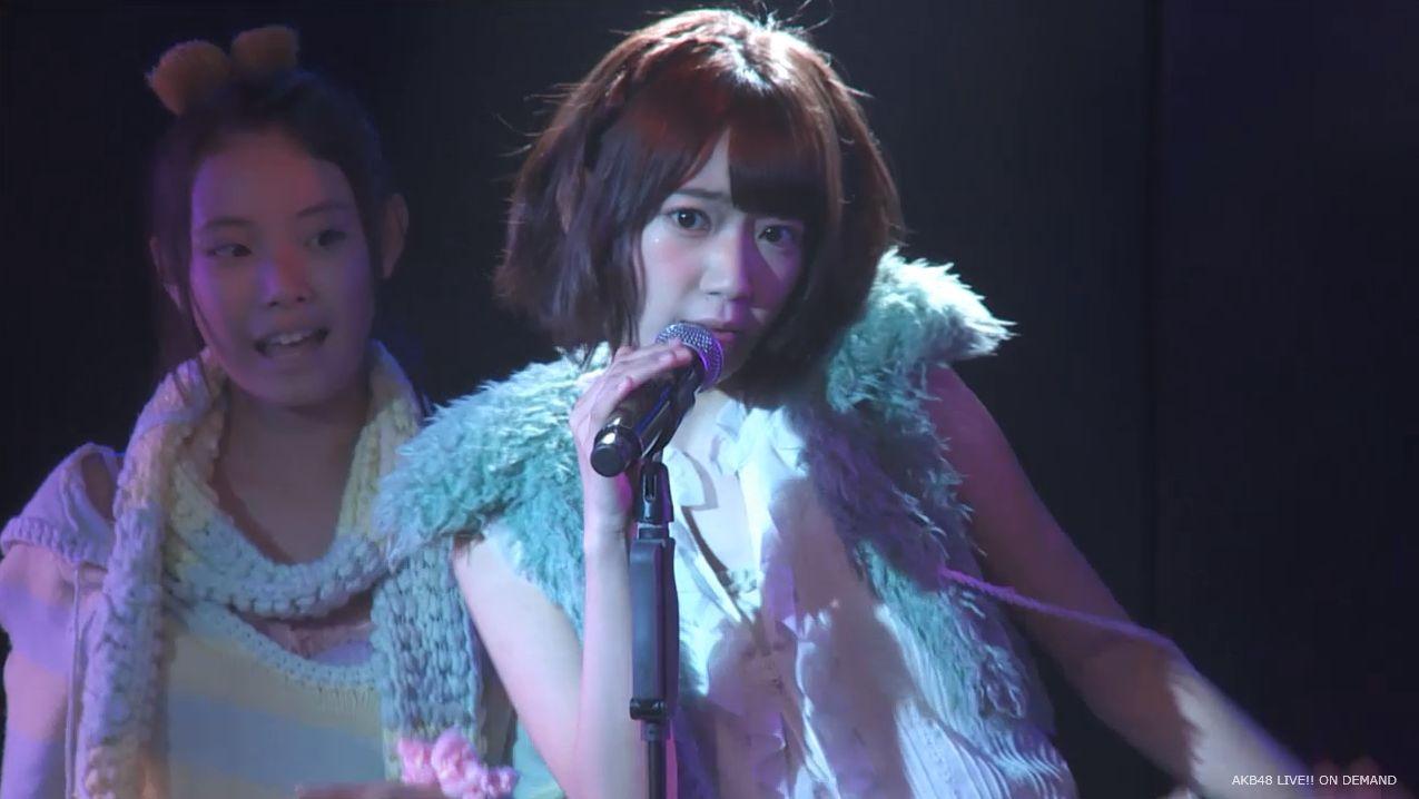 宮脇咲良 ハート型ウィルス チームA公演 20140714 (13)