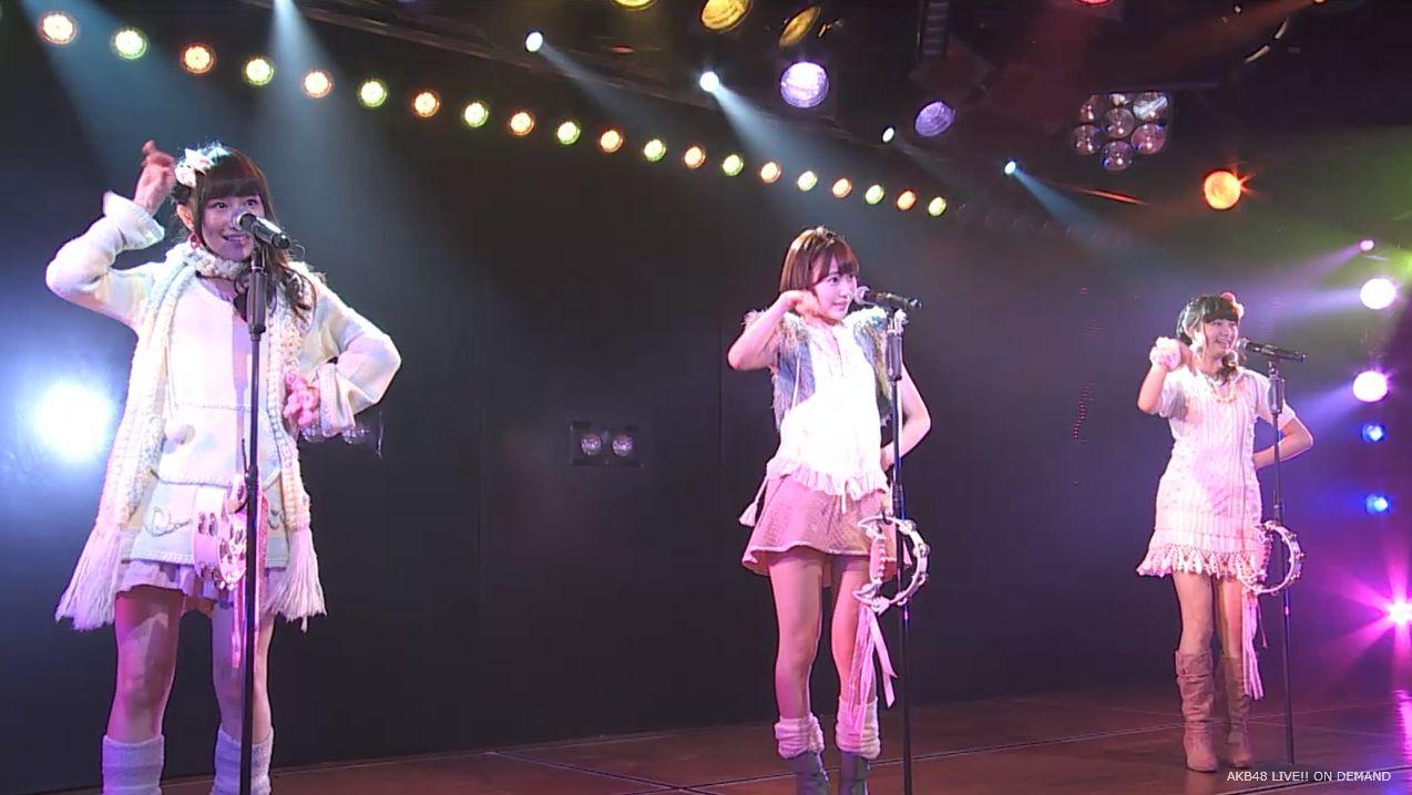 ストレート宮脇咲良 ハート型ウィルス AKB48チームA公演 20140730 (7)