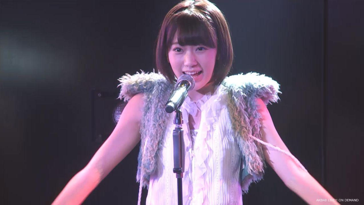 ストレート宮脇咲良 ハート型ウィルス AKB48チームA公演 20140730 (8)