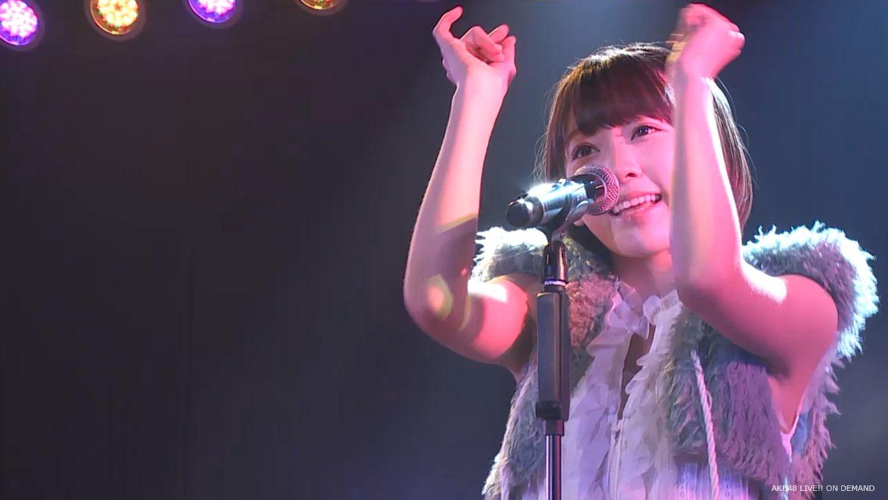 ストレート宮脇咲良 ハート型ウィルス AKB48チームA公演 20140730 (20)
