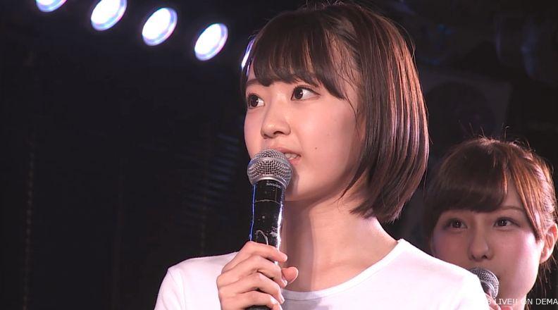 ストレート宮脇咲良 MC AKB48チームA公演 20140730 (5)