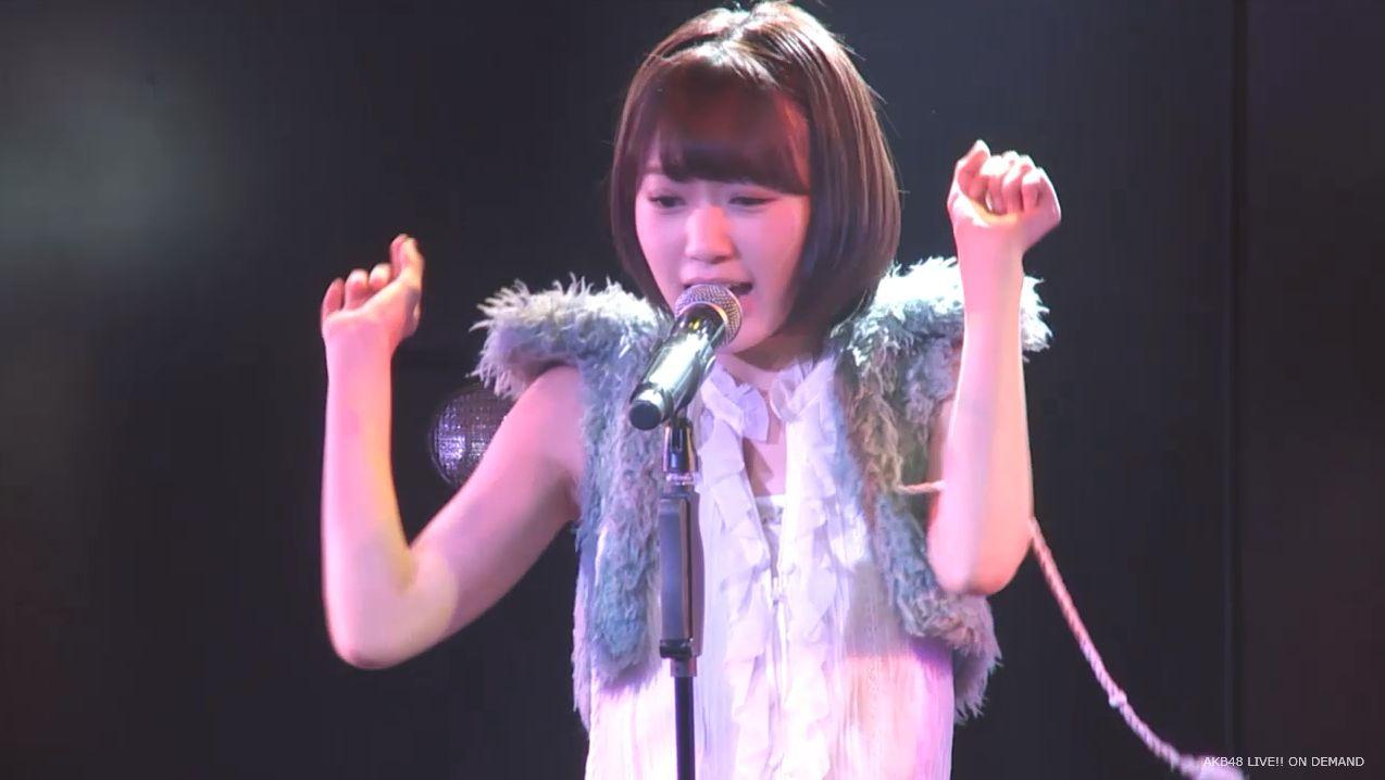 ストレート宮脇咲良 ハート型ウィルス AKB48チームA公演 20140730 (11)