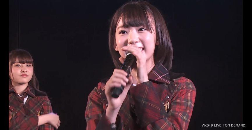 ストレート宮脇咲良 MC 自己紹介 AKB48チームA公演 20140730 (5)