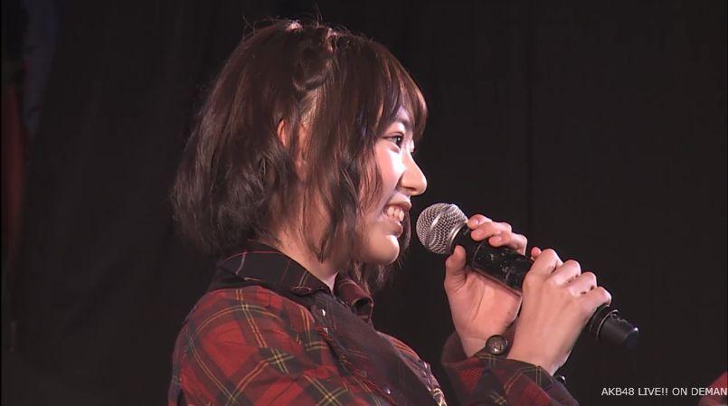 宮脇咲良 MC チームA公演 20140714 (5)