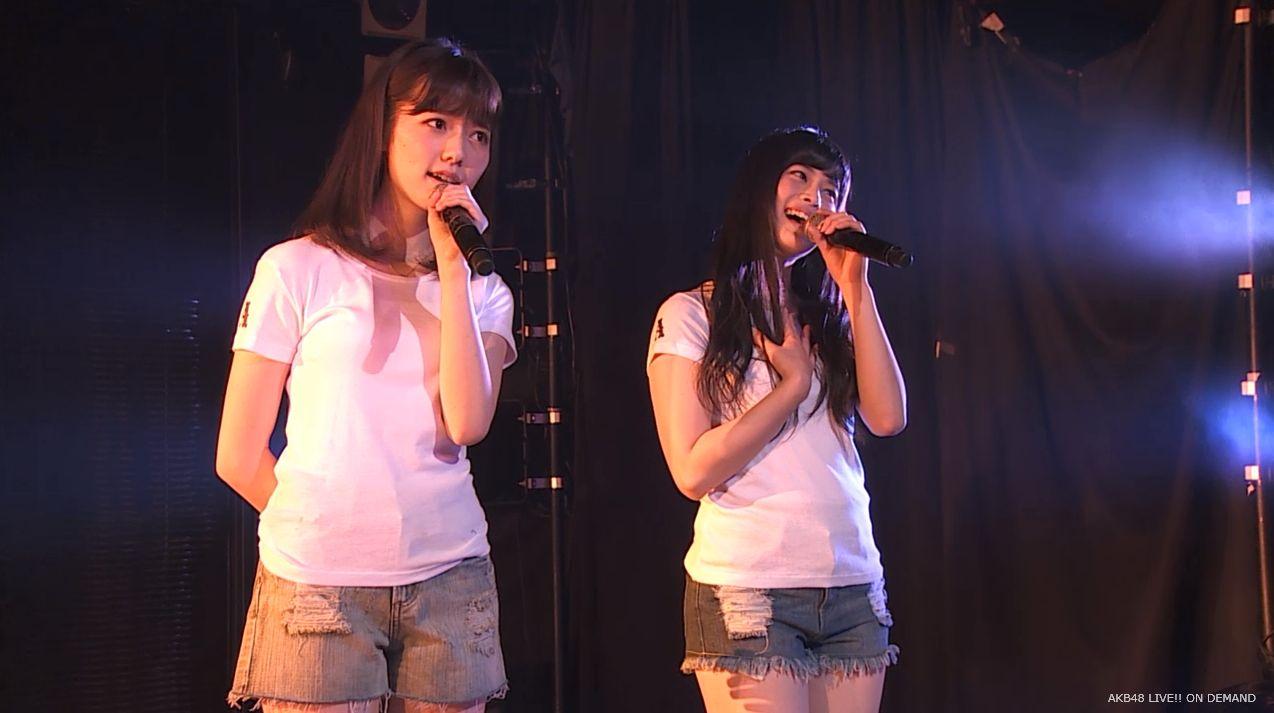 島崎遥香 あの頃のスニーカー チームA劇場公演 20140714 (2)
