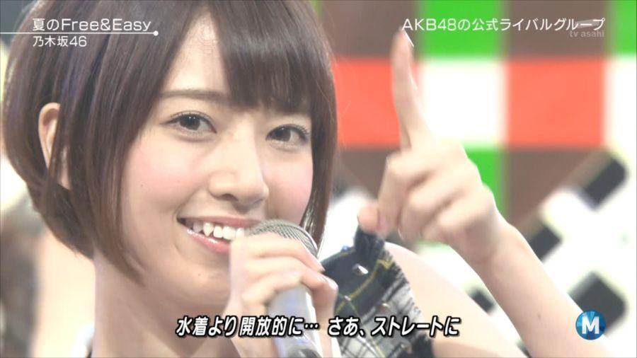 乃木坂46 Mステ 橋本奈々未 20140711 (6)_R