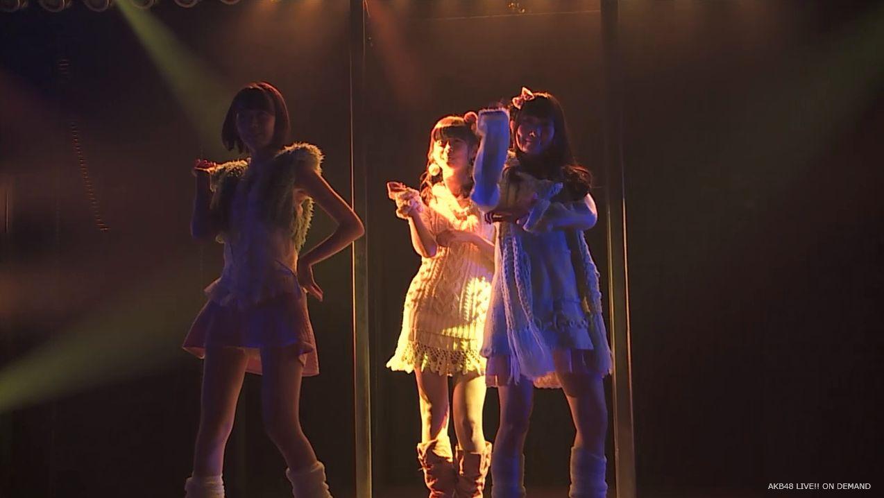ストレート宮脇咲良 ハート型ウィルス AKB48チームA公演 20140730