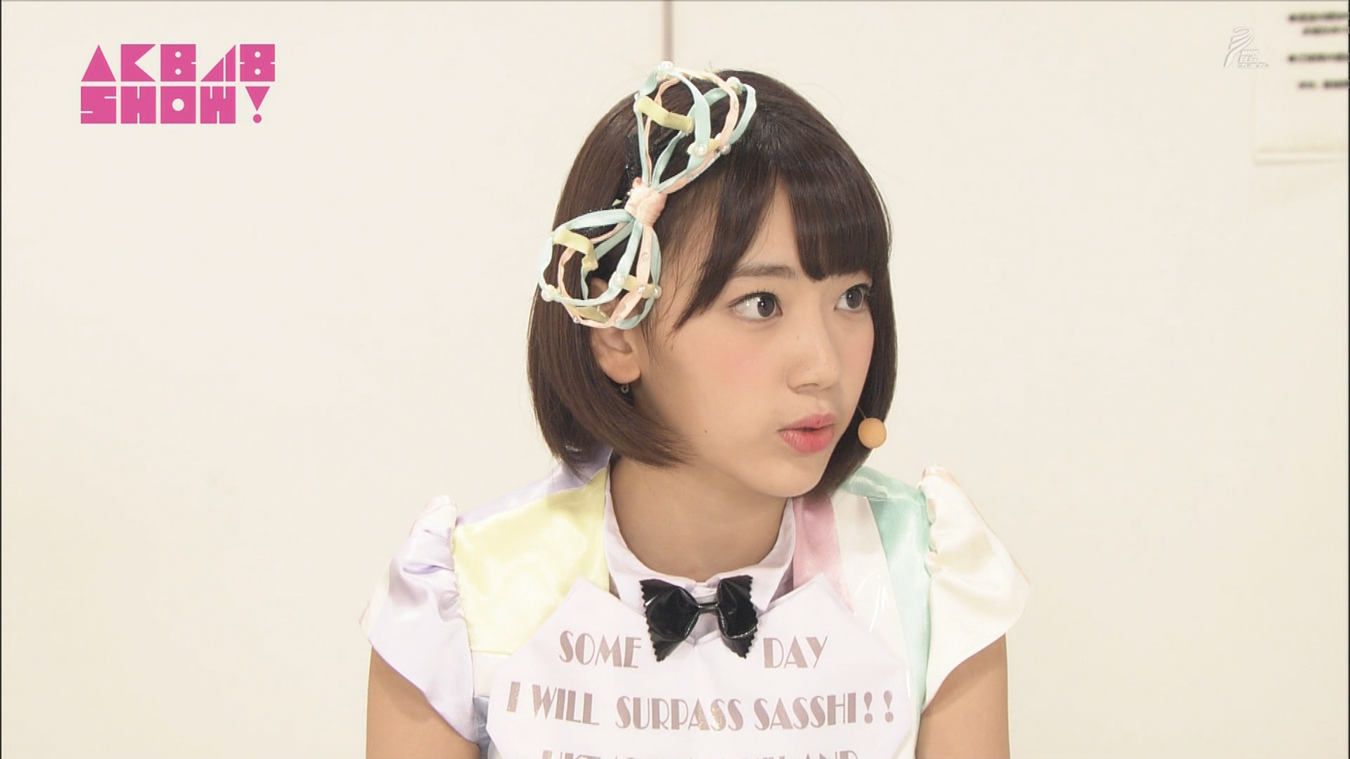 AKB48SHOW 心のプラカード 宮脇咲良 20140830 (11)