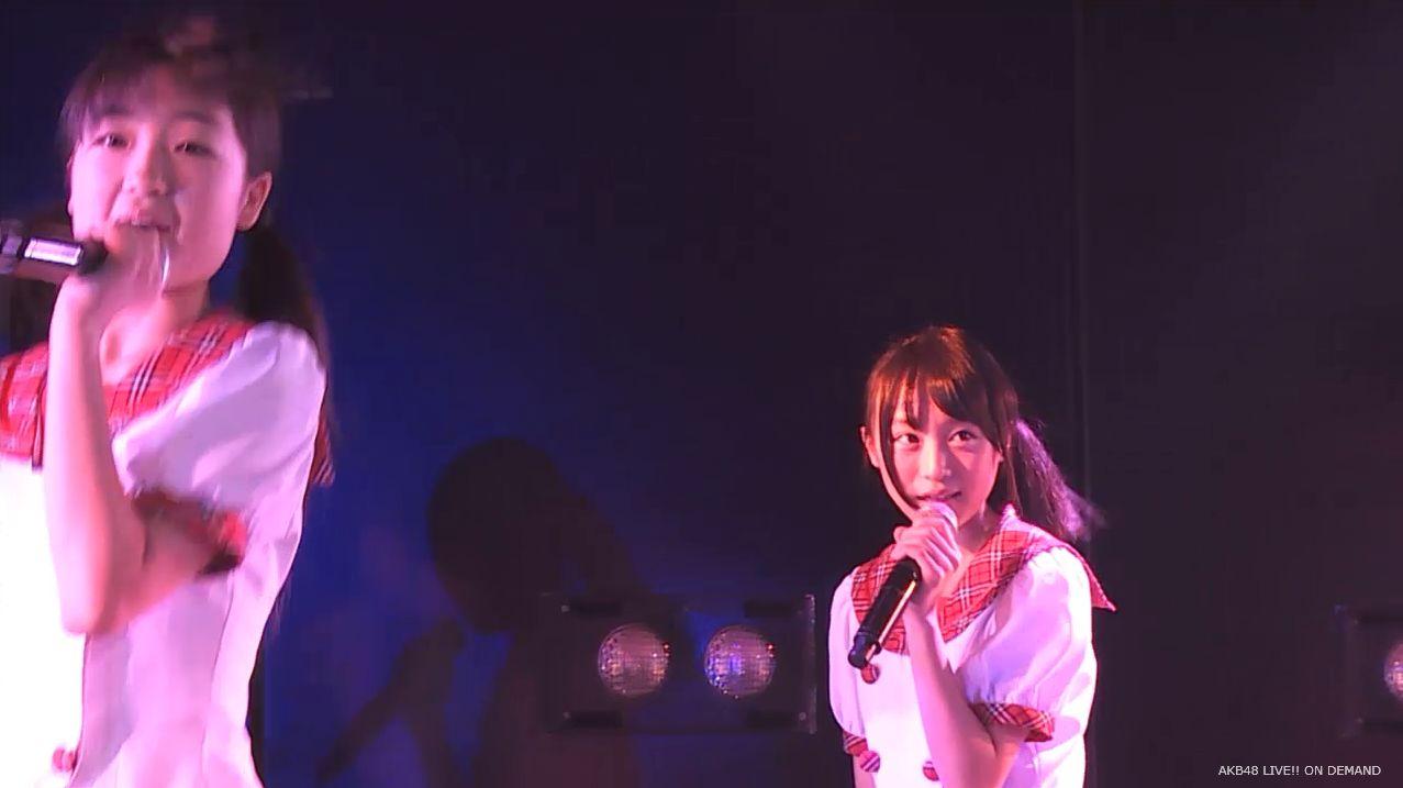 チーム8劇場公演 坂口渚沙 スカートひらり (9)