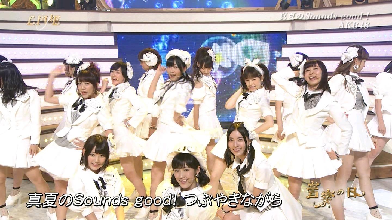 音楽の日 宮脇咲良AKB48 HKT48 20140802 (62)