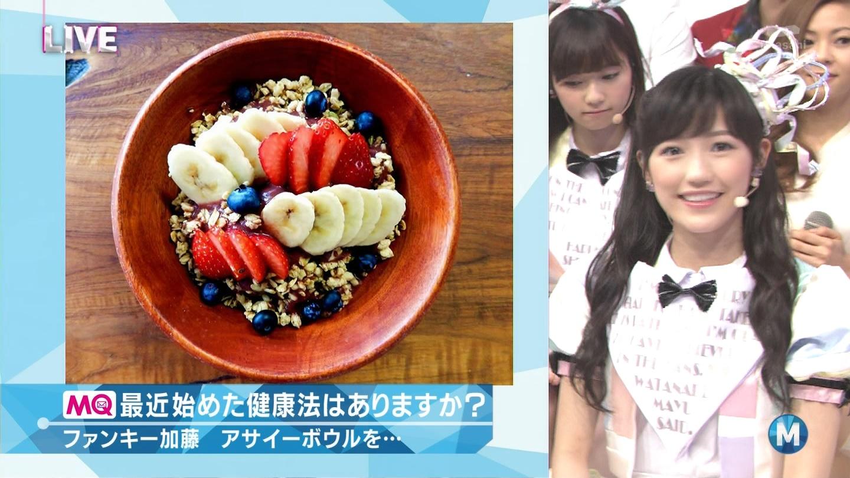 ミュージックステーション AKB48渡辺麻友 心のプラカード 20140829 (19)