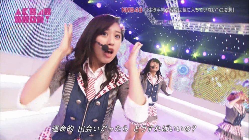 AKB48SHOW NMB48生徒手帳の写真は気に入ってないの法則 20140816 (49)_R