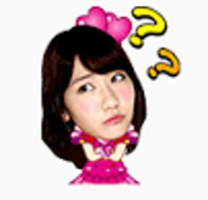 LINEスタンプAKB48 03
