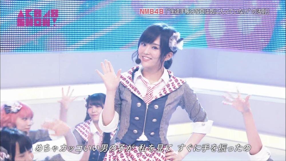 AKB48SHOW NMB48生徒手帳の写真は気に入ってないの法則 20140816 (46)_R