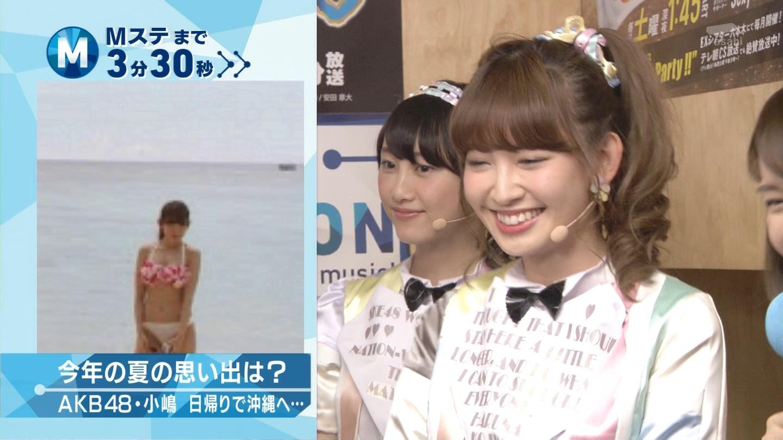 ミュージックステーション AKB48松井玲奈 心のプラカード 20140829 (6)