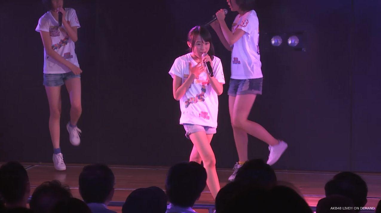 チーム8坂口渚沙 劇場公演デビュー 20140806 (104)
