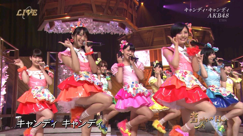 音楽の日 AKB48 キャンディ・キャンディ 20140802 (61)