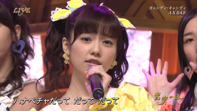 音楽の日 AKB48 キャンディ・キャンディ 20140802 (9)