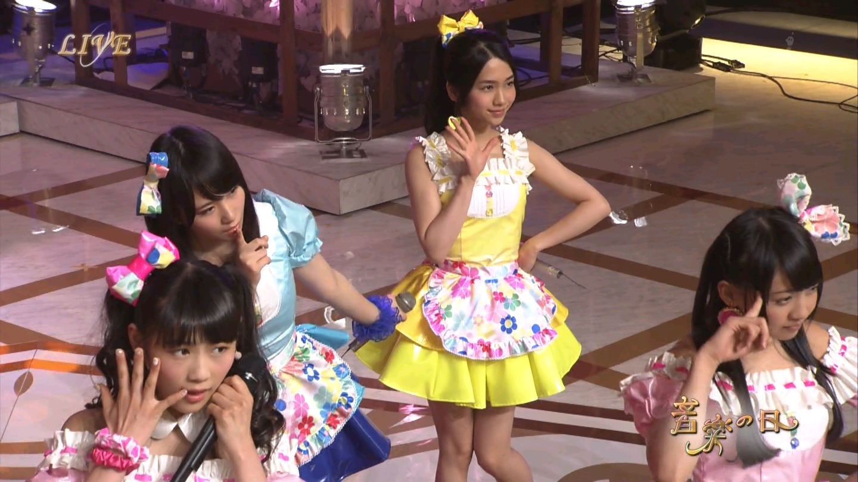 音楽の日 AKB48 キャンディ・キャンディ 20140802