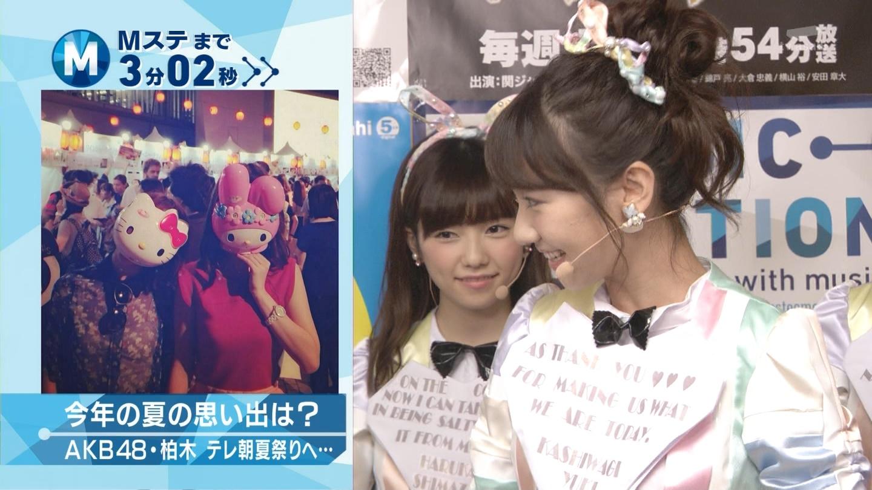 ミュージックステーション AKB48島崎遥香 心のプラカード 20140829 (10)