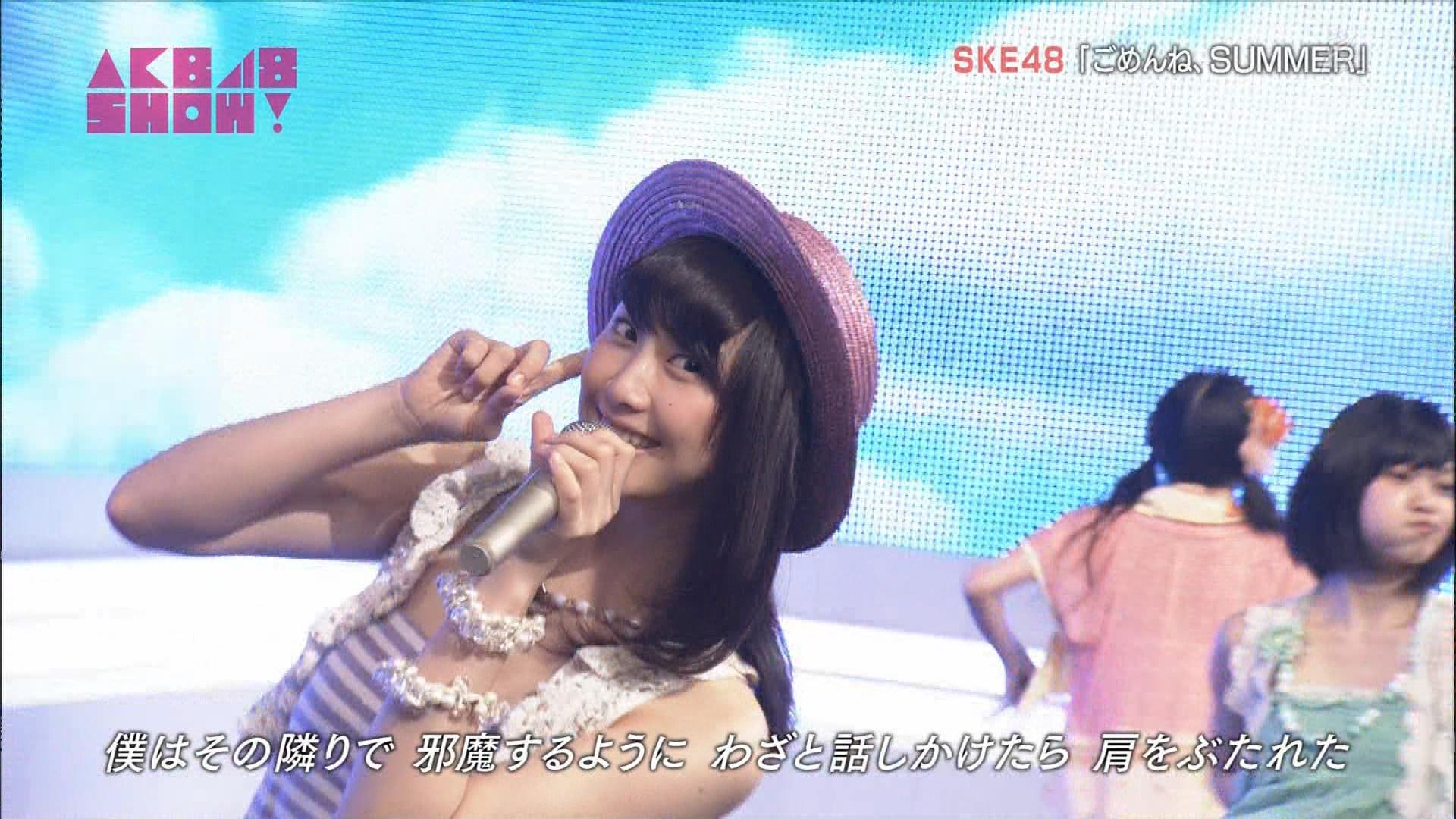 AKB48SHOW ごめんね、SUMMER 松井玲奈 20140830 (7)