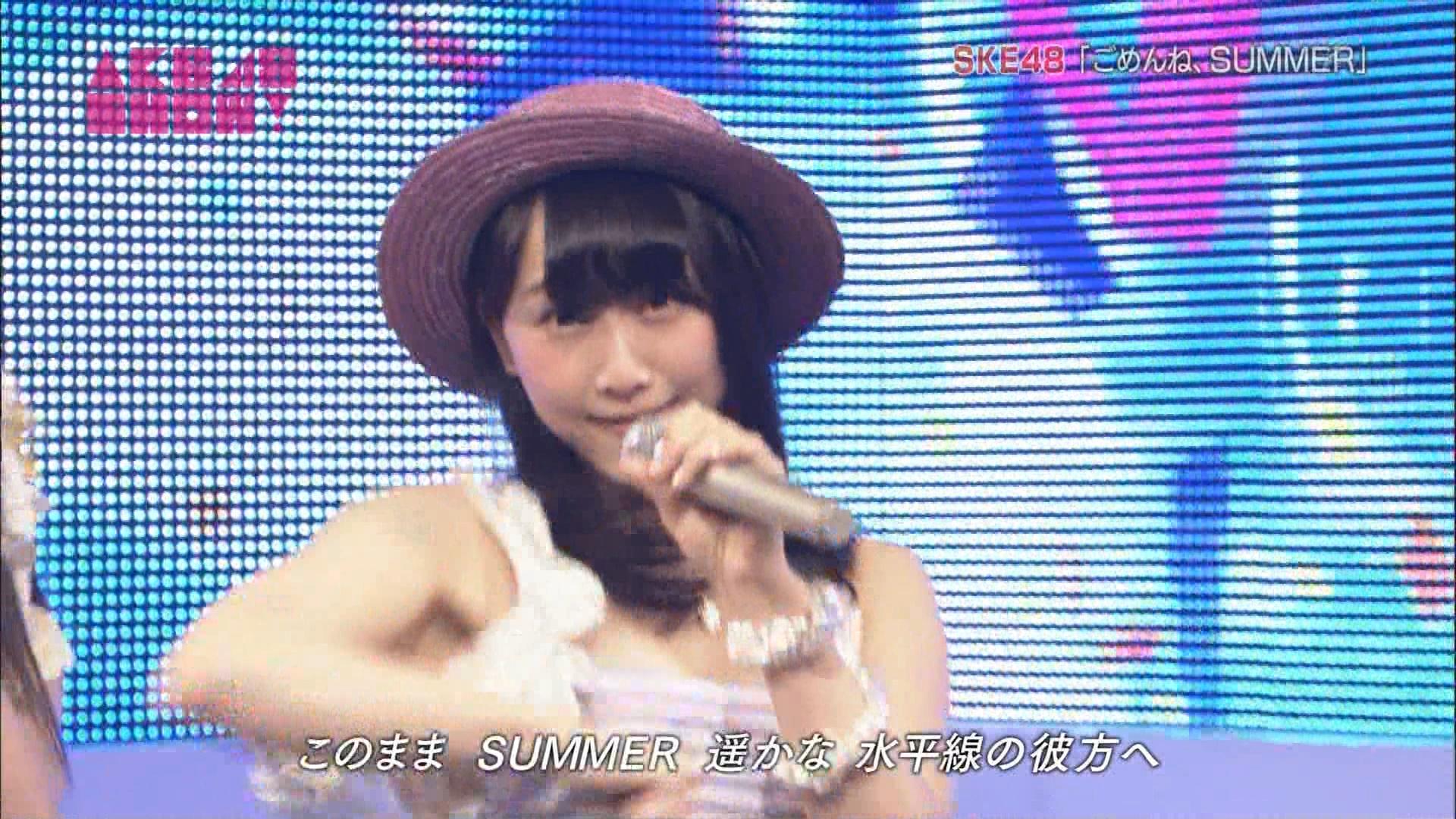 AKB48SHOW ごめんね、SUMMER 松井玲奈 20140830 (12)
