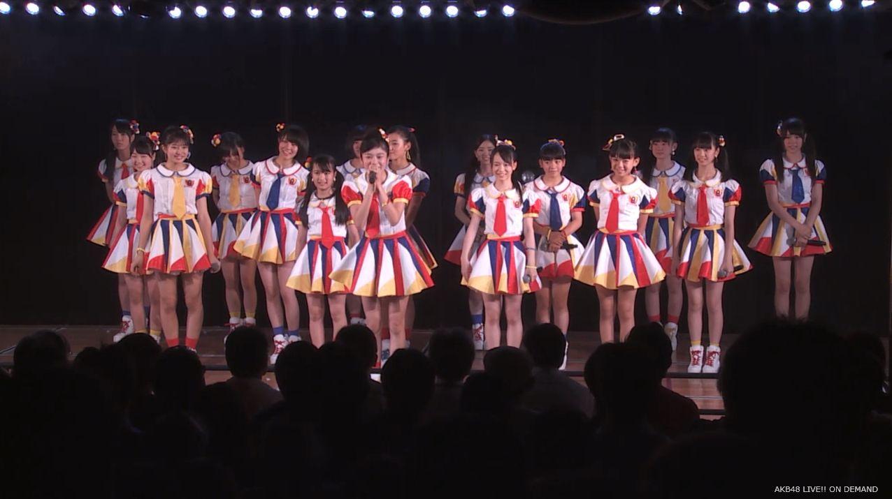 AKB48チーム8 言い訳Maybe 20140805 (1)