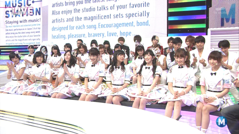 ミュージックステーション AKB48柏木由紀 心のプラカード 20140829 (27)