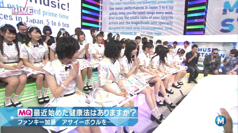 ミュージックステーション AKB48川栄李奈 心のプラカード 20140829 (6)